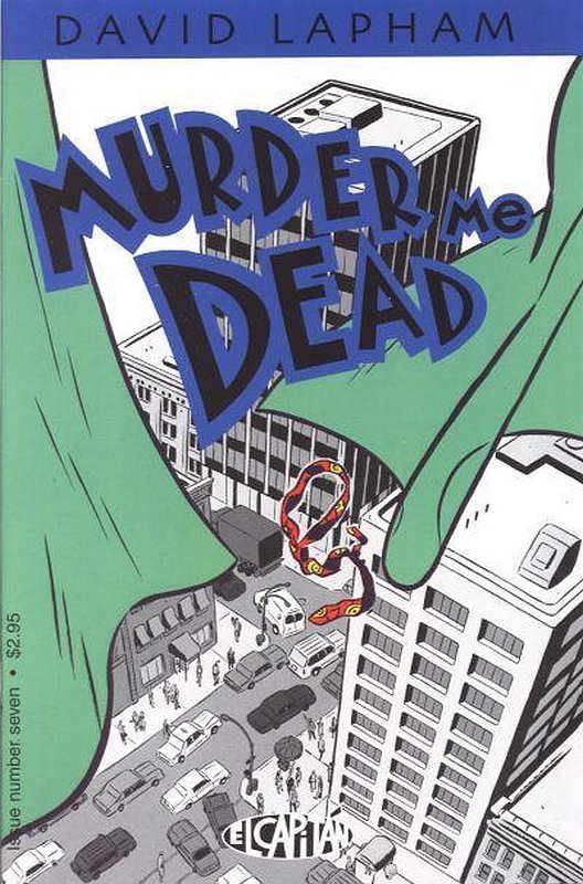 Cover of Murder Me Dead (Vol 1) #7. One of 250,000 Vintage American Comics on sale from Krypton!