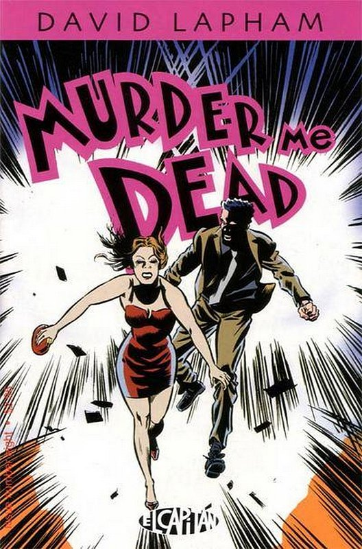 Cover of Murder Me Dead (Vol 1) #8. One of 250,000 Vintage American Comics on sale from Krypton!
