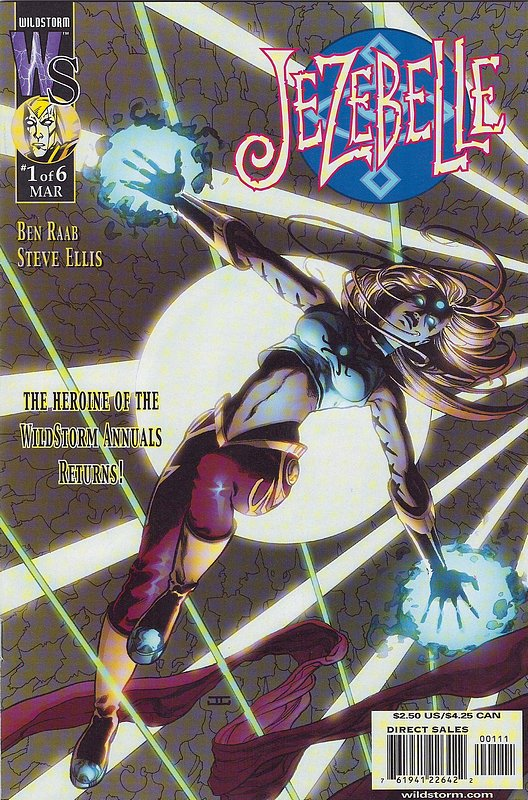 Cover of Jezebelle (2001 Ltd) #1. One of 250,000 Vintage American Comics on sale from Krypton!