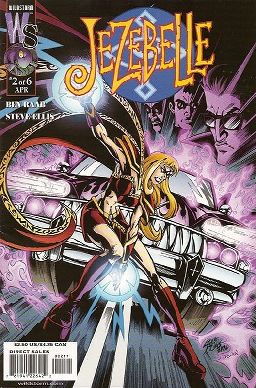 Cover of Jezebelle (2001 Ltd) #2. One of 250,000 Vintage American Comics on sale from Krypton!