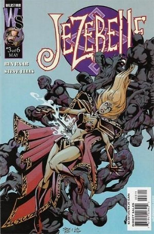 Cover of Jezebelle (2001 Ltd) #3. One of 250,000 Vintage American Comics on sale from Krypton!