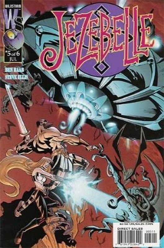 Cover of Jezebelle (2001 Ltd) #5. One of 250,000 Vintage American Comics on sale from Krypton!