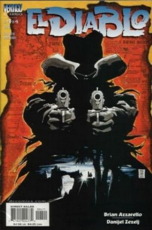 Cover of El Diablo (2001 Ltd) #4. One of 250,000 Vintage American Comics on sale from Krypton!