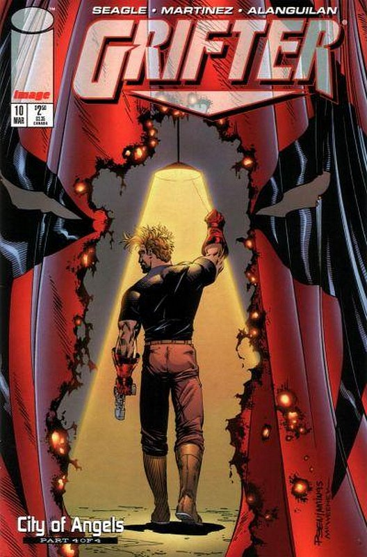 Cover of Grifter (Vol 1) #10. One of 250,000 Vintage American Comics on sale from Krypton!