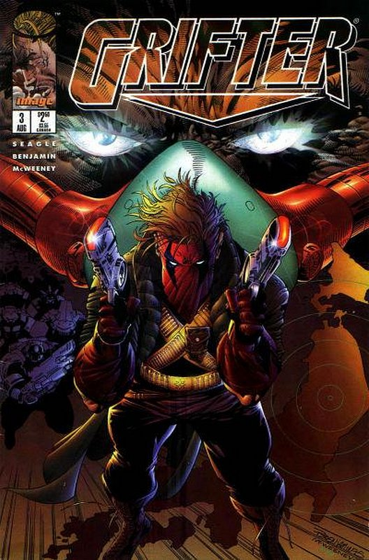Cover of Grifter (Vol 1) #3. One of 250,000 Vintage American Comics on sale from Krypton!