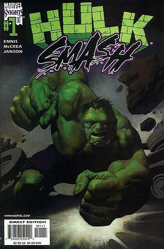 Cover of Hulk Smash (2001 Ltd) #1. One of 250,000 Vintage American Comics on sale from Krypton!
