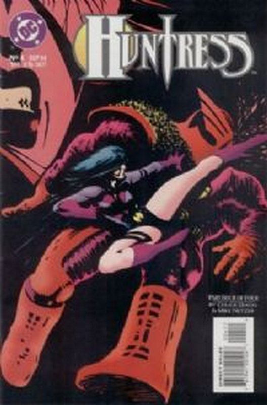 Cover of Huntress (1994 Ltd) #4. One of 250,000 Vintage American Comics on sale from Krypton!