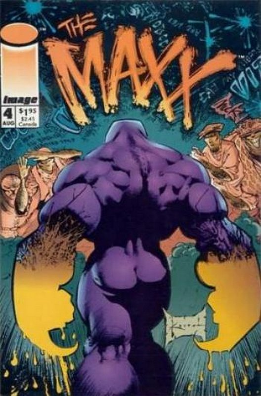 Cover of Maxx (Vol 1) The #4. One of 250,000 Vintage American Comics on sale from Krypton!