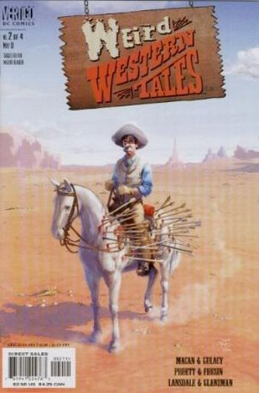 Cover of Weird Western Tales (2001 Ltd) #2. One of 250,000 Vintage American Comics on sale from Krypton!