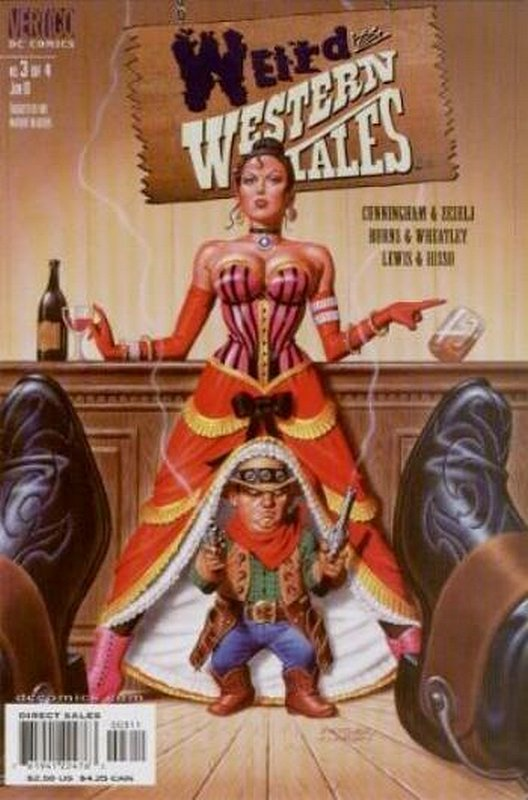 Cover of Weird Western Tales (2001 Ltd) #3. One of 250,000 Vintage American Comics on sale from Krypton!