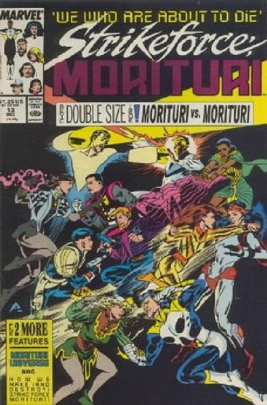 Cover of Strikeforce: Morituri (Vol 1) #13. One of 250,000 Vintage American Comics on sale from Krypton!