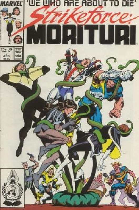 Cover of Strikeforce: Morituri (Vol 1) #5. One of 250,000 Vintage American Comics on sale from Krypton!