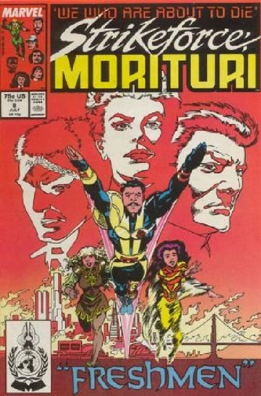 Cover of Strikeforce: Morituri (Vol 1) #8. One of 250,000 Vintage American Comics on sale from Krypton!