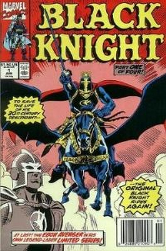 Cover of Black Knight (1990 Ltd) #1. One of 250,000 Vintage American Comics on sale from Krypton!