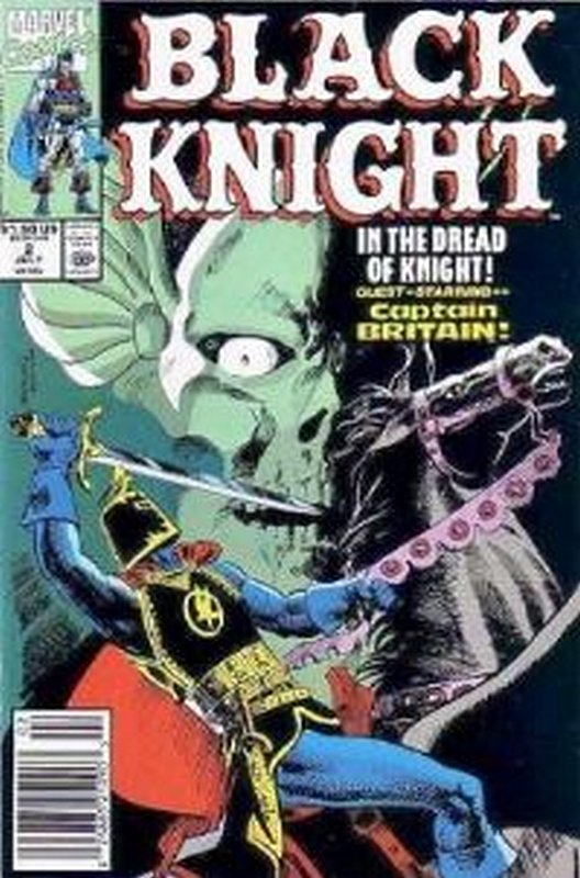 Cover of Black Knight (1990 Ltd) #2. One of 250,000 Vintage American Comics on sale from Krypton!
