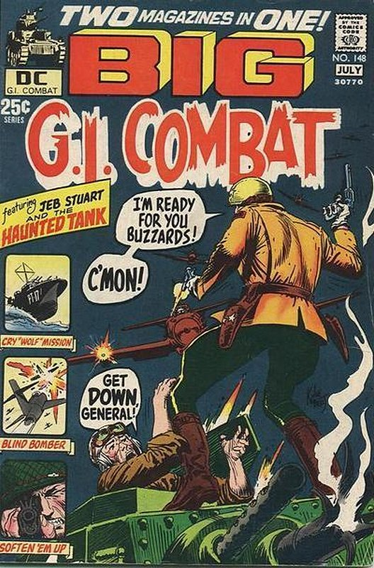Cover of G. I. Combat (Vol 1) #148. One of 250,000 Vintage American Comics on sale from Krypton!