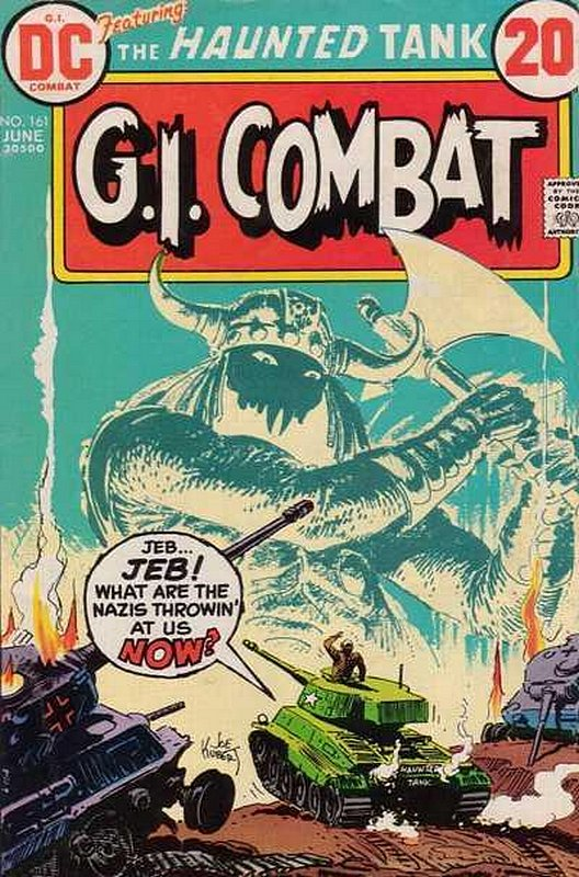 Cover of G. I. Combat (Vol 1) #161. One of 250,000 Vintage American Comics on sale from Krypton!