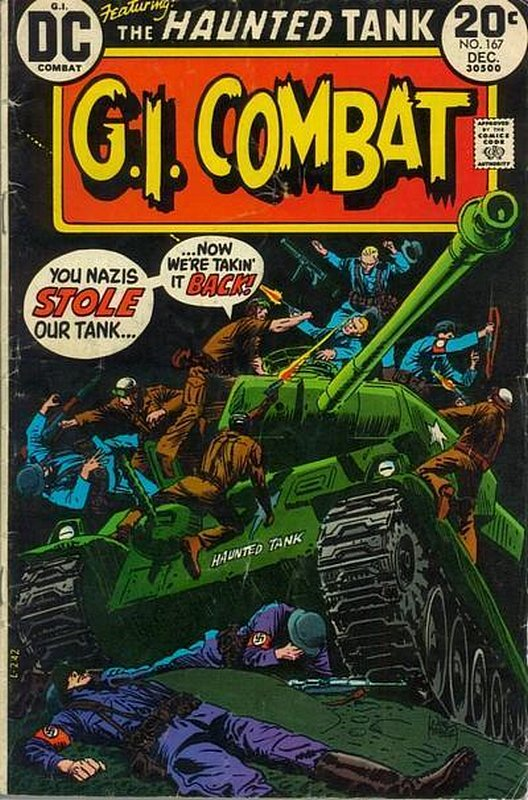 Cover of G. I. Combat (Vol 1) #167. One of 250,000 Vintage American Comics on sale from Krypton!