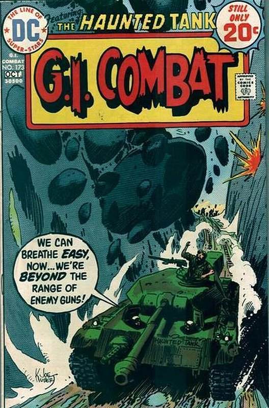 Cover of G. I. Combat (Vol 1) #173. One of 250,000 Vintage American Comics on sale from Krypton!