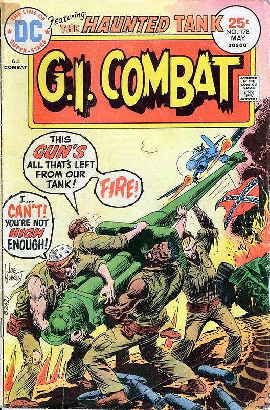 Cover of G. I. Combat (Vol 1) #178. One of 250,000 Vintage American Comics on sale from Krypton!