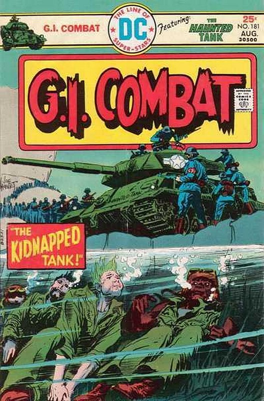 Cover of G. I. Combat (Vol 1) #181. One of 250,000 Vintage American Comics on sale from Krypton!