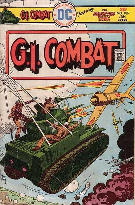 Cover of G. I. Combat (Vol 1) #186. One of 250,000 Vintage American Comics on sale from Krypton!