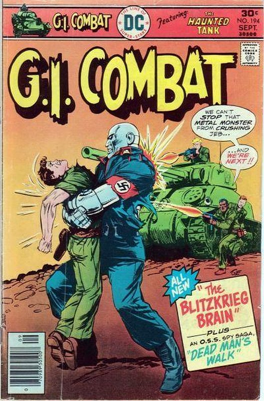 Cover of G. I. Combat (Vol 1) #194. One of 250,000 Vintage American Comics on sale from Krypton!