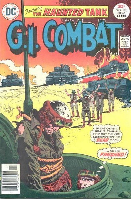 Cover of G. I. Combat (Vol 1) #196. One of 250,000 Vintage American Comics on sale from Krypton!
