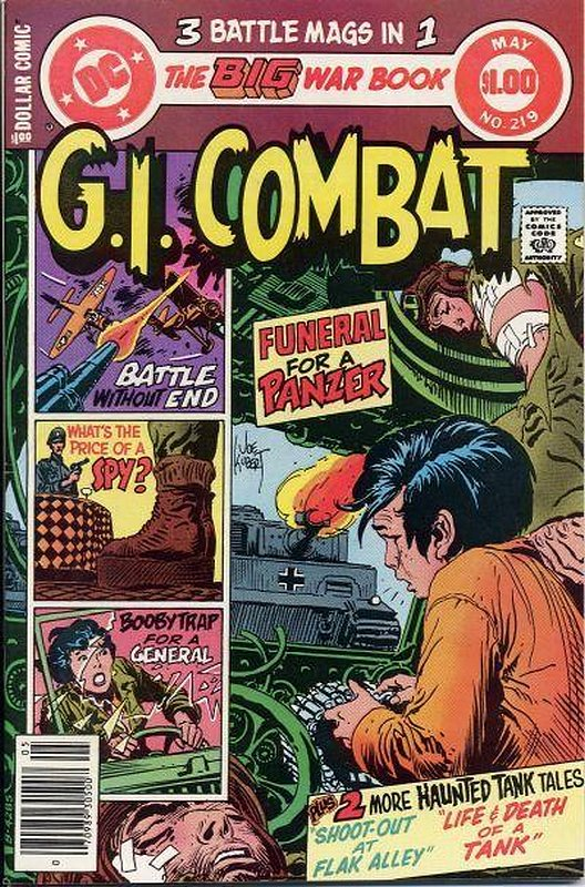 Cover of G. I. Combat (Vol 1) #219. One of 250,000 Vintage American Comics on sale from Krypton!