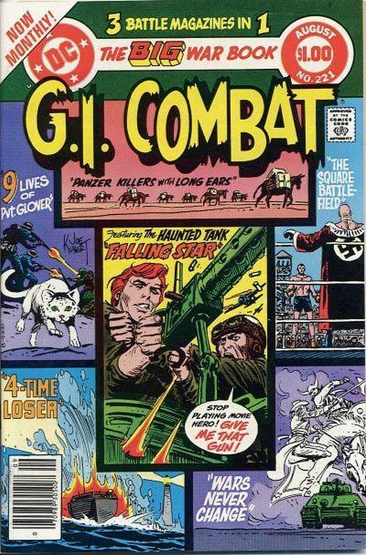 Cover of G. I. Combat (Vol 1) #221. One of 250,000 Vintage American Comics on sale from Krypton!