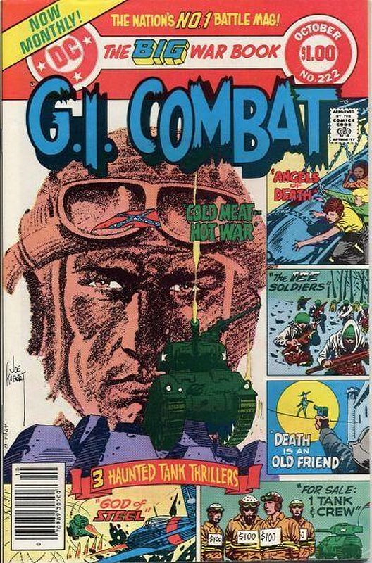 Cover of G. I. Combat (Vol 1) #222. One of 250,000 Vintage American Comics on sale from Krypton!