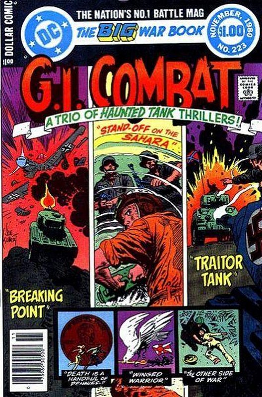Cover of G. I. Combat (Vol 1) #223. One of 250,000 Vintage American Comics on sale from Krypton!