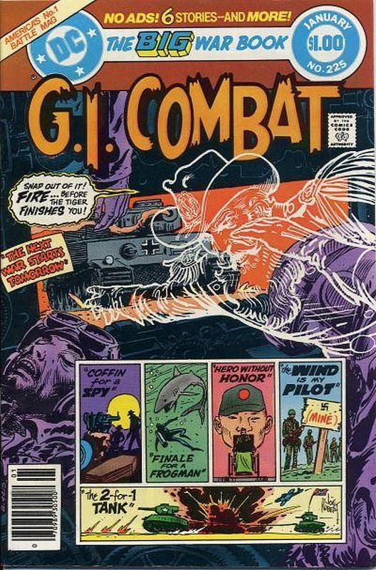 Cover of G. I. Combat (Vol 1) #225. One of 250,000 Vintage American Comics on sale from Krypton!