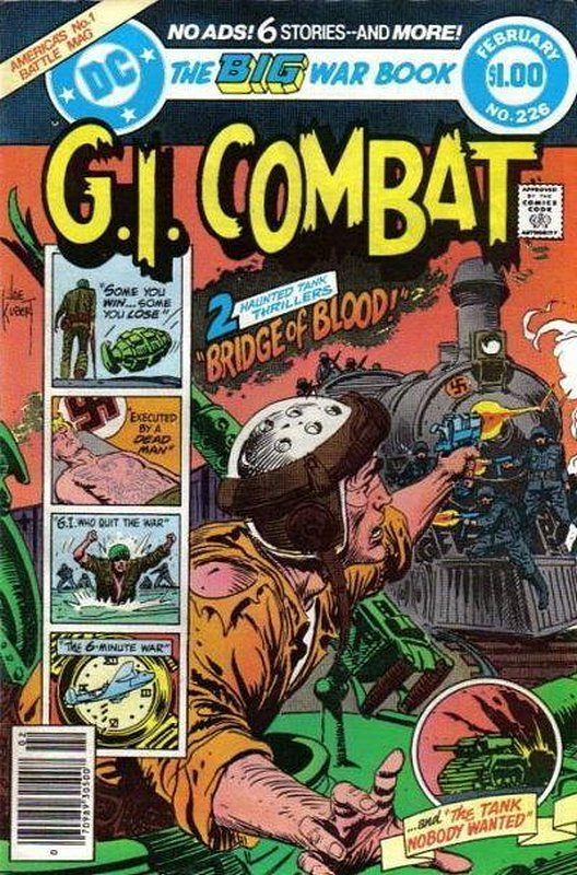 Cover of G. I. Combat (Vol 1) #226. One of 250,000 Vintage American Comics on sale from Krypton!