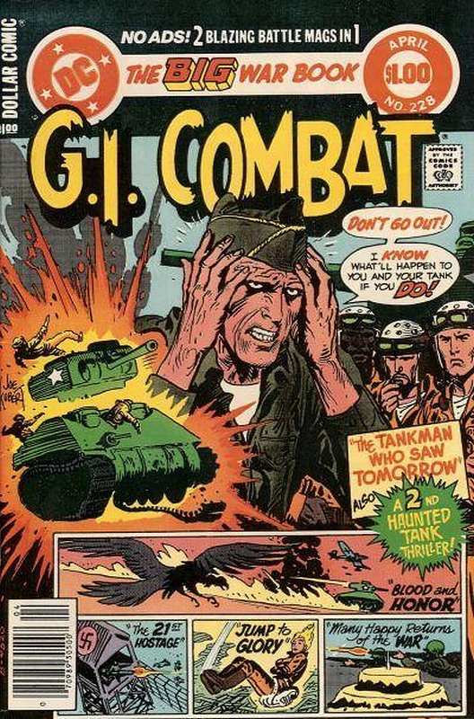 Cover of G. I. Combat (Vol 1) #228. One of 250,000 Vintage American Comics on sale from Krypton!