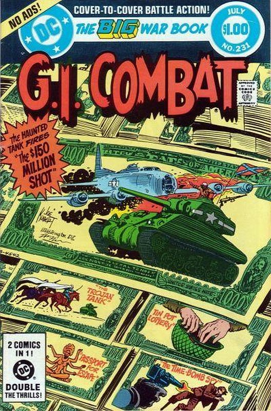 Cover of G. I. Combat (Vol 1) #231. One of 250,000 Vintage American Comics on sale from Krypton!