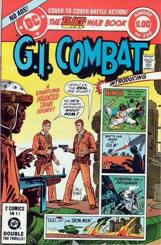 Cover of G. I. Combat (Vol 1) #232. One of 250,000 Vintage American Comics on sale from Krypton!