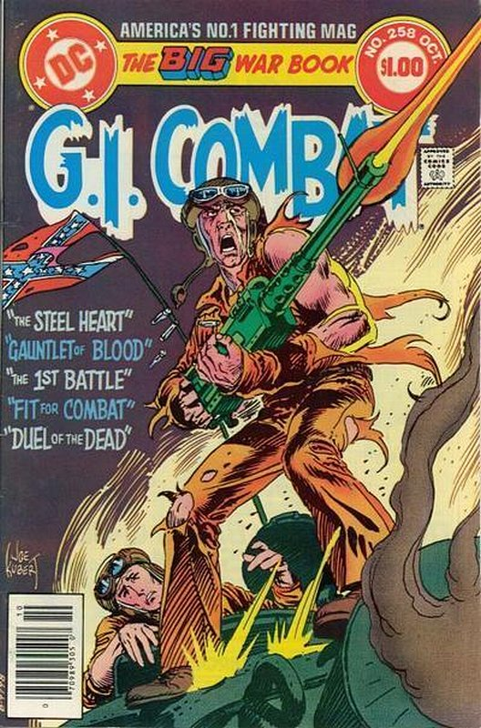 Cover of G. I. Combat (Vol 1) #258. One of 250,000 Vintage American Comics on sale from Krypton!