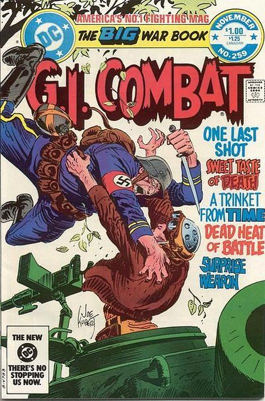 Cover of G. I. Combat (Vol 1) #259. One of 250,000 Vintage American Comics on sale from Krypton!
