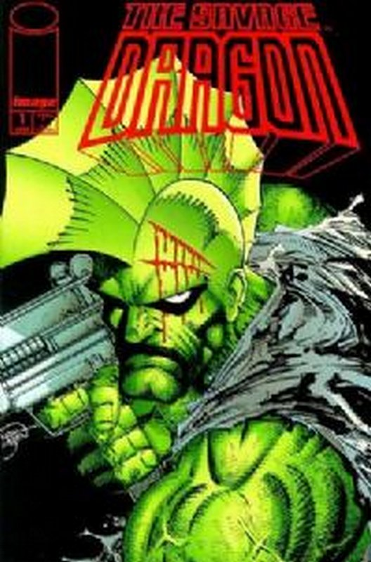 Cover of Savage Dragon #1. One of 250,000 Vintage American Comics on sale from Krypton!