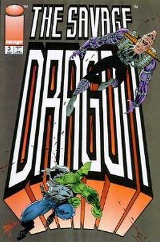 Cover of Savage Dragon #5. One of 250,000 Vintage American Comics on sale from Krypton!