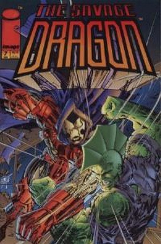 Cover of Savage Dragon #7. One of 250,000 Vintage American Comics on sale from Krypton!
