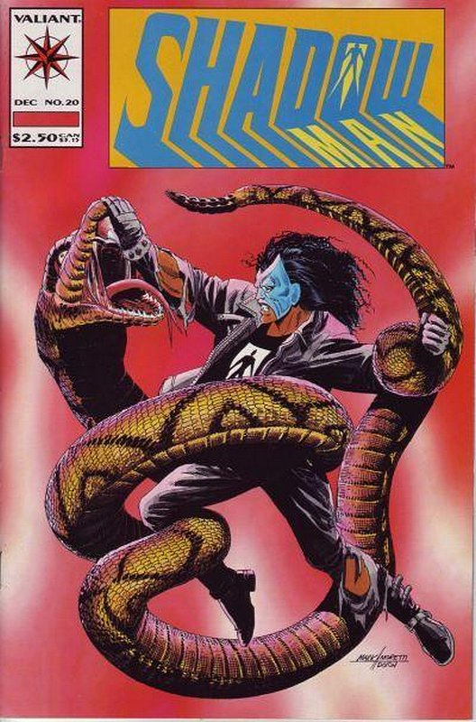 Cover of Shadowman (Vol 1) #20. One of 250,000 Vintage American Comics on sale from Krypton!