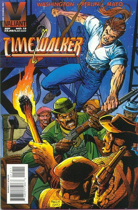 Cover of Timewalker (Vol 1) #12. One of 250,000 Vintage American Comics on sale from Krypton!