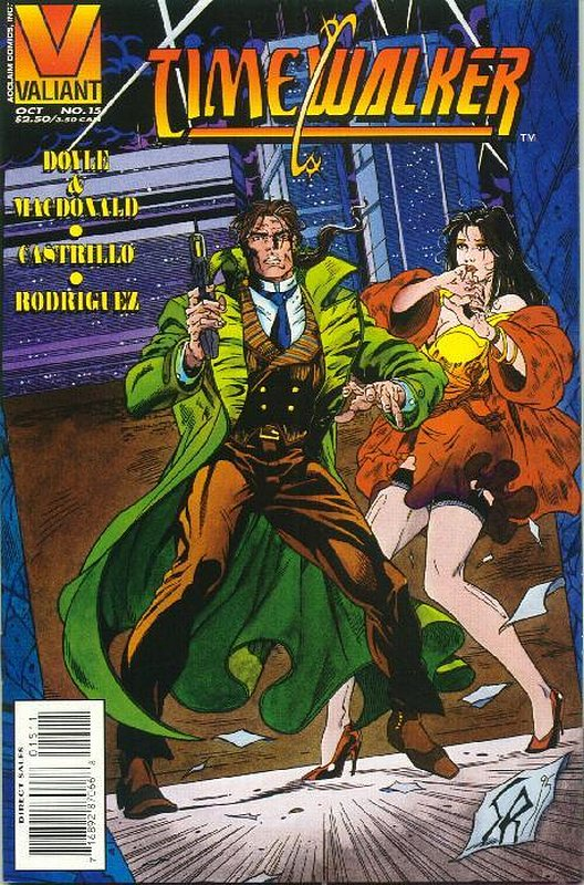 Cover of Timewalker (Vol 1) #15. One of 250,000 Vintage American Comics on sale from Krypton!