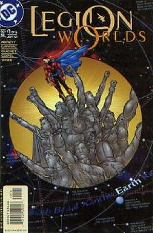 Cover of Legion Worlds (2001 Ltd) #1. One of 250,000 Vintage American Comics on sale from Krypton!