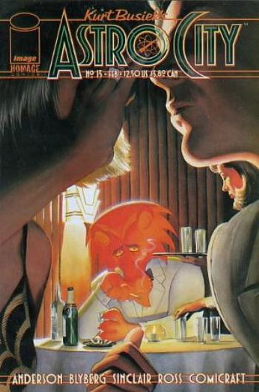 Cover of Astro City (Vol 2) #13. One of 250,000 Vintage American Comics on sale from Krypton!