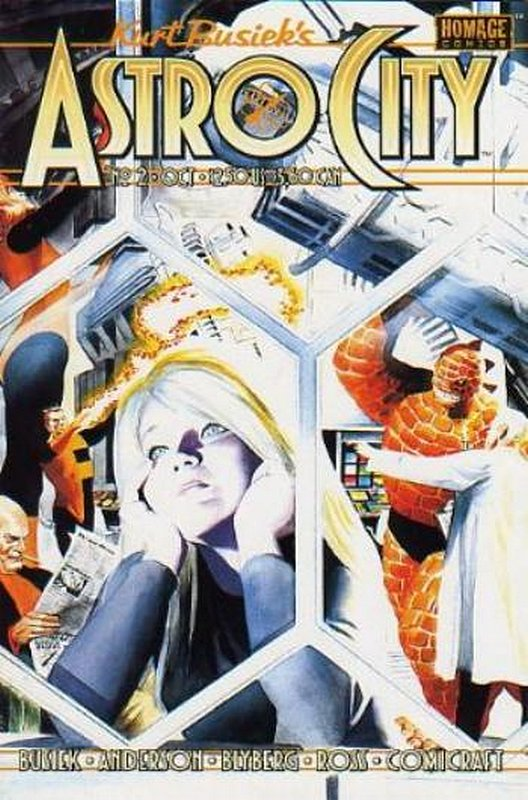 Cover of Astro City (Vol 2) #2. One of 250,000 Vintage American Comics on sale from Krypton!