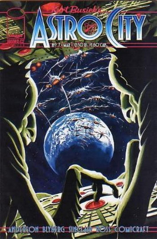Cover of Astro City (Vol 2) #7. One of 250,000 Vintage American Comics on sale from Krypton!