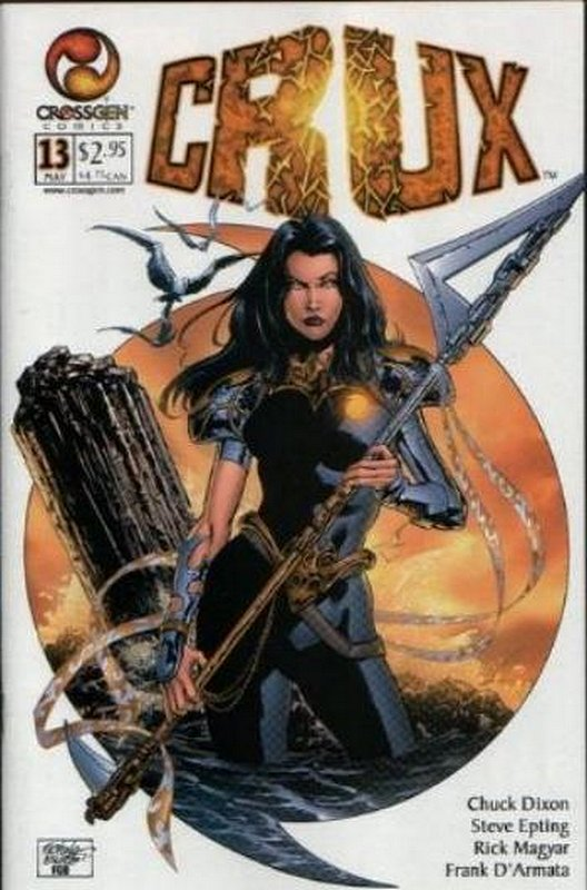 Cover of Crux (Vol 1) #13. One of 250,000 Vintage American Comics on sale from Krypton!